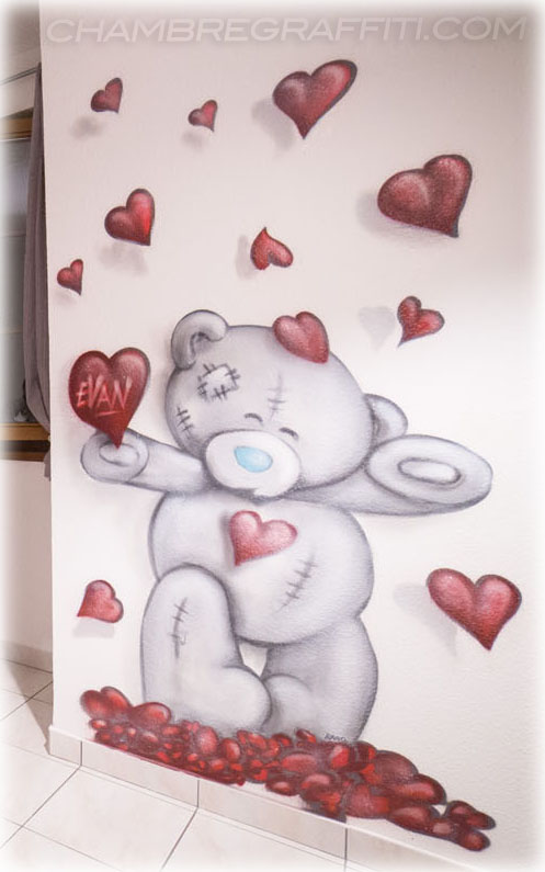 Graffiti Nounours