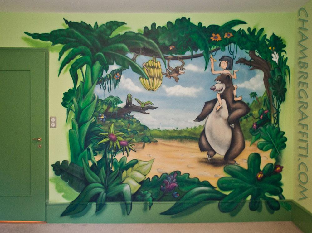 Chambre Graffiti Jungle Chambre Graffiti