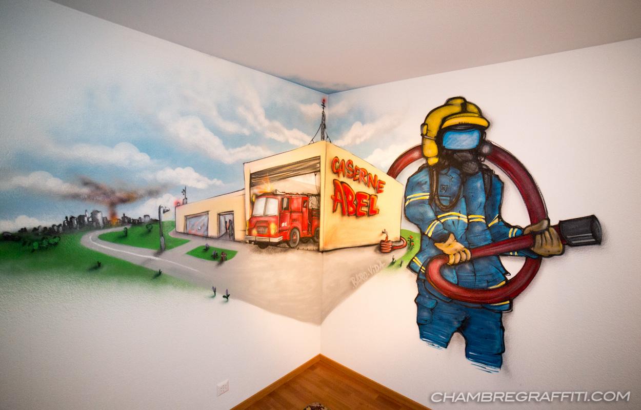 Chambre Pompier Abel