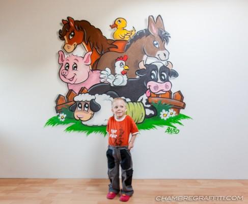 Chambre-Graff-animaux-ferme