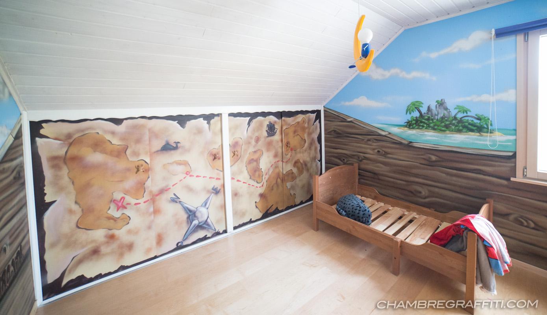 Déco Chambre thème Pirate complete en Suisse