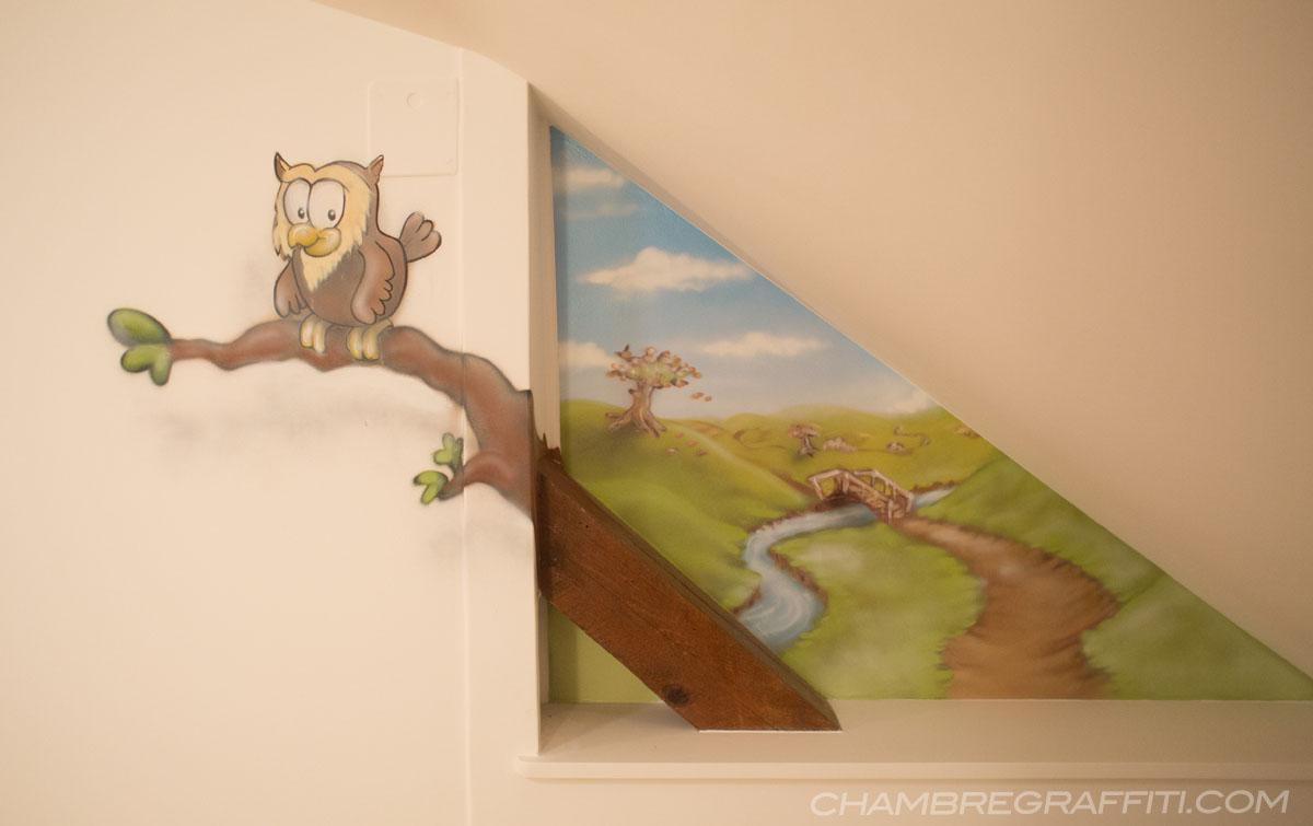 Chambre Winnie l\'ourson pour Bébé