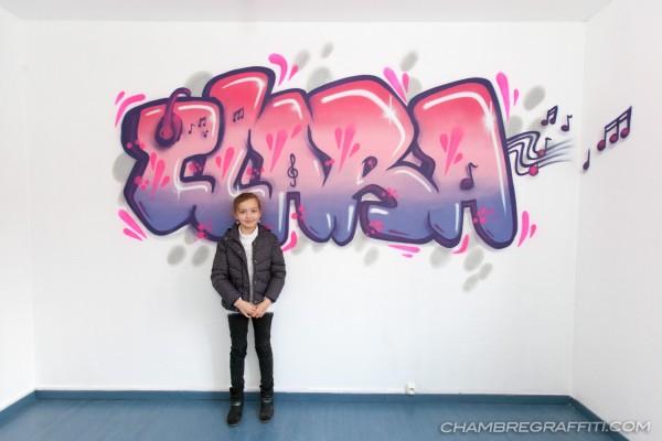 Chambre-Prenom-graffiti-Lille-Clara