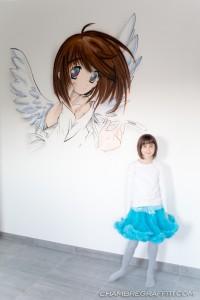 Chambre-graffiti-Manga