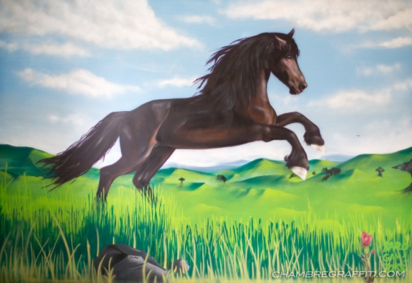 Chambre-graffiti-cheval