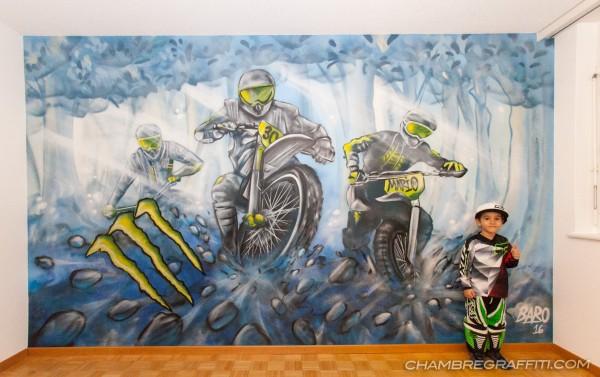 Chambre-motocross-Graffiti-monster