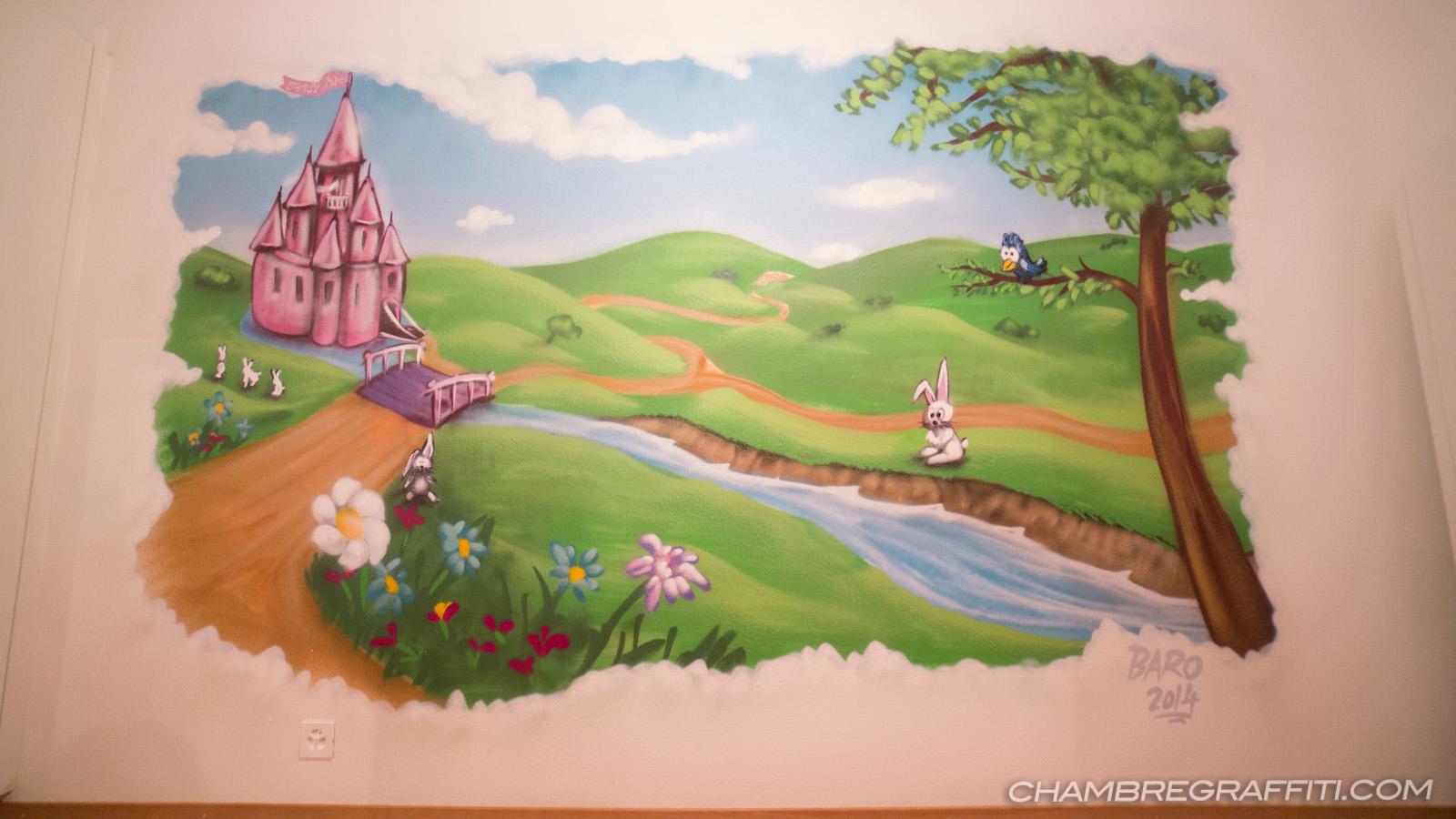 Décor Princesse pour une petite fille à Genève (Suisse)
