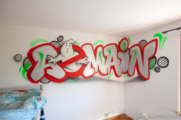 Graffiti-Romain-Ghostbusters-Chambre