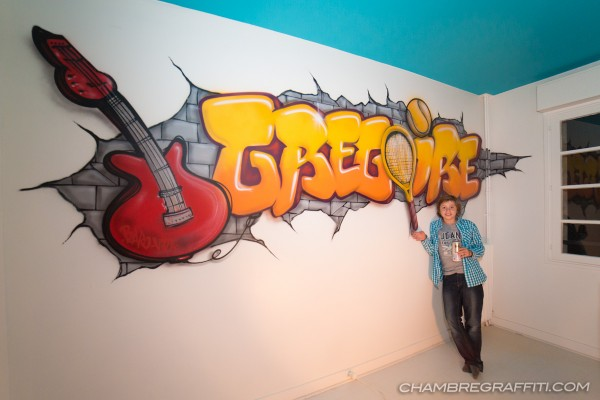 Gregoire-Chambre-Graffiti-Guitare-Tennis-Paris
