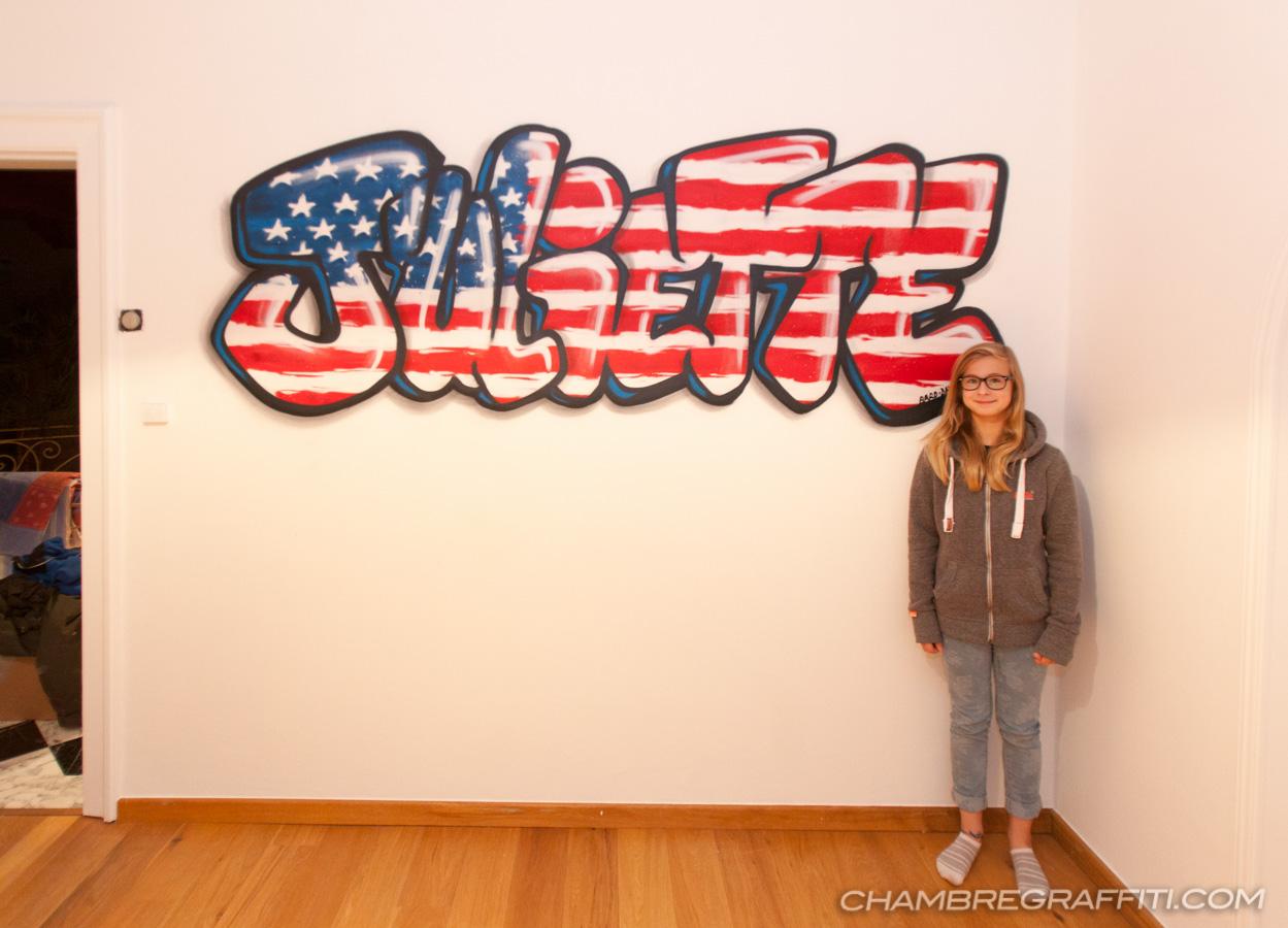 Chambre Sur Le Thème De New York chambre de juliette en graffiti sur le thème de new york à