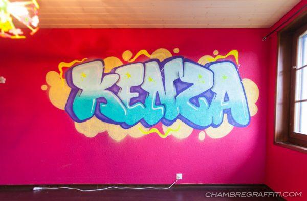 Kenza-Graffiti-chambre-9ans