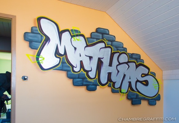 Mathias Chambre Graffiti