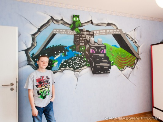 Minecraft-chambre-graffiti-deco-Geneve