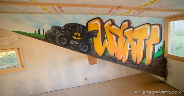 Wyatt-Graffiti-bigfoot-chambre-deco