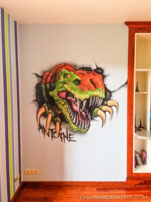 chambre-enfant-dinosaure-trex