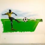 Footballeur Bresil pour le fils